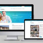 Fogászat arculat - weboldal készítés - webdesign