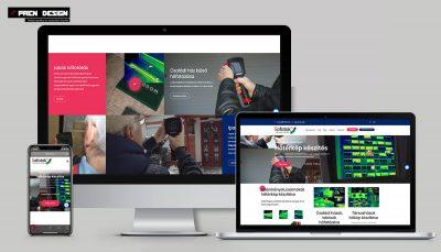Induló céges honlap