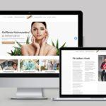 Weboldal Oriflame szépség tanácsadóknak