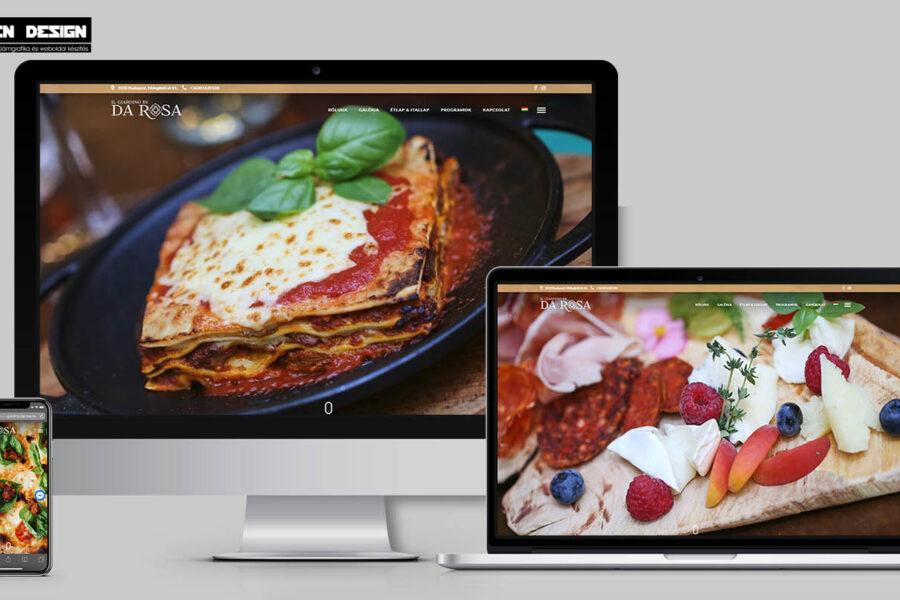 Gastro webdesign – Honlap éttermeknek