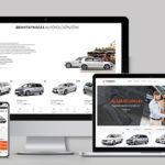 Autókölcsönző weboldal - Online foglaló rendszer készítés