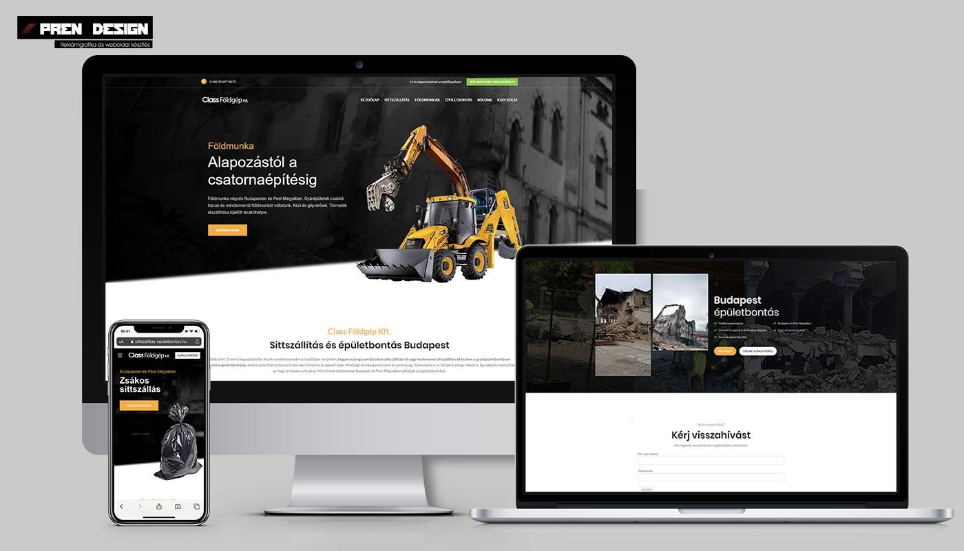 Soroksár weboldal készítés és Webáruház készítés