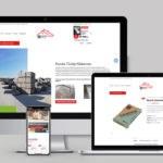 Bemutatkozó weboldal készítés Tüzép Kistarcsa