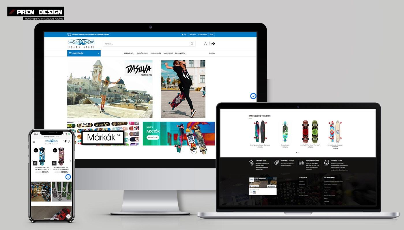 Wordpress webáruház