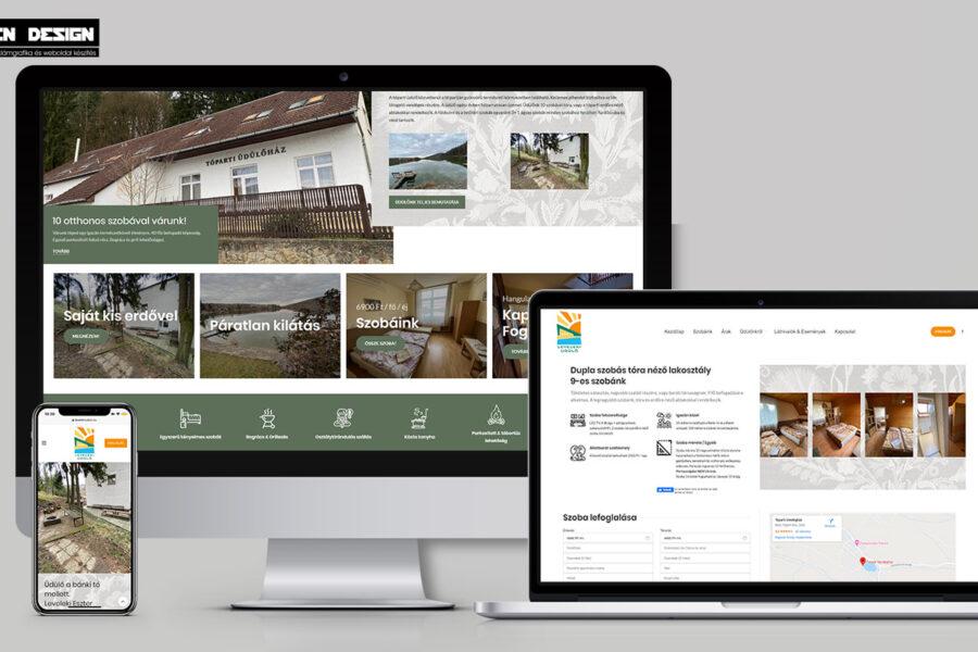 Szálláshely weboldal készítés – Online szobafoglalási rendszerrel