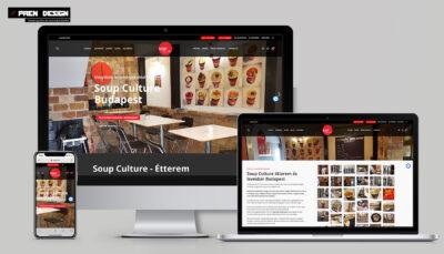 Levesbár Coup culture Budapest weblap készítés