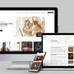 Restaurátor bemutatkozó modern weboldal