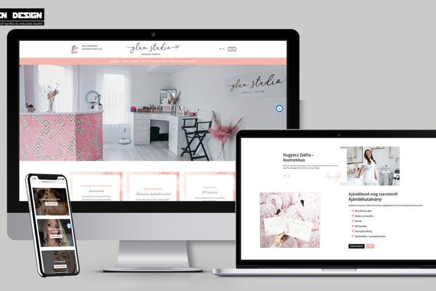 Sminktetováló és kozmetikus weboldal