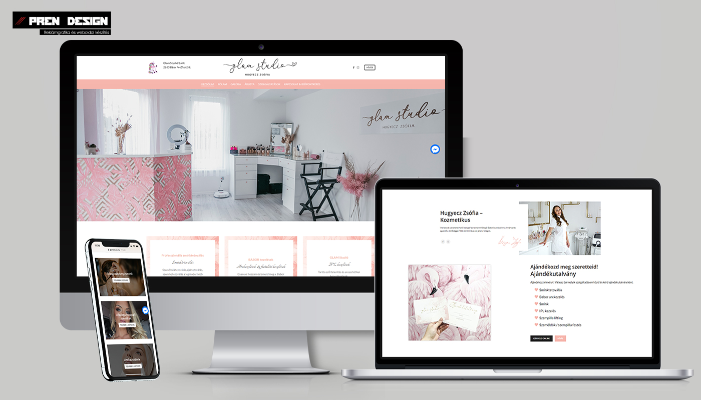 BABOR kozmetikus weboldal készítés és sminktetoválás