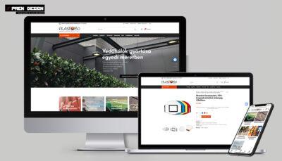 Webáruház készítés – Plastobo sportszergyár