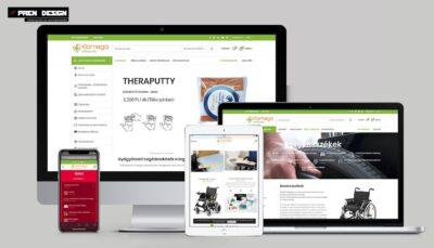 Webshop készítés – Gyógyászati kellékek