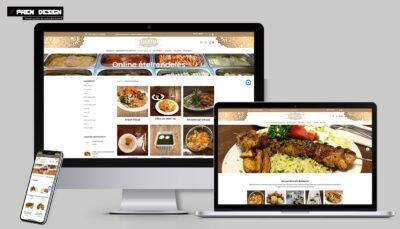 Profi weboldal felújítás étterem