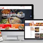 Falatozó weboldal készítés Zsuhuka