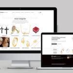 Ékszer webáruház készítés - Pren Design webshop készítés