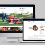 Webáruház készítés Miskolc - Encs - Husqvarna