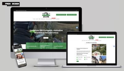 Honlap készítés Budapest Komplett kisvállalkozói arculattervezés és logótervezés