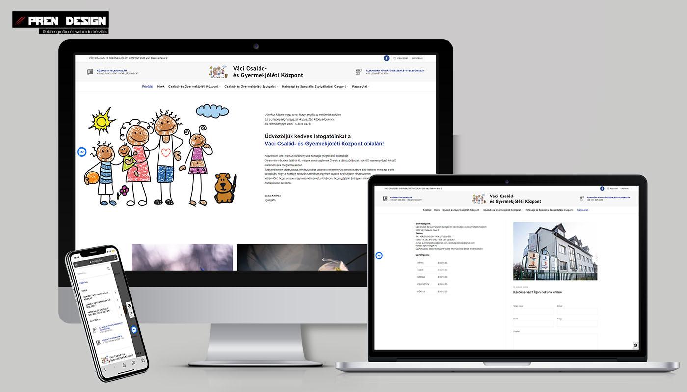 Önkormányzati weboldal felújítás és honlap készítés